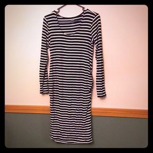 Maternity Fitted Old Navy FALL 2017 Striped Dress